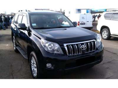 Дефлектор капота TOYOTA Land Cruiser Prado 150  (2009-2013)