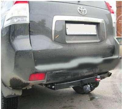 Фаркоп Lexus GX 460 2010-2014 / Toyota Land Cruiser Prado (150) 4x4 2010- (без электрики) BOSAL 3090-FL - фото 3