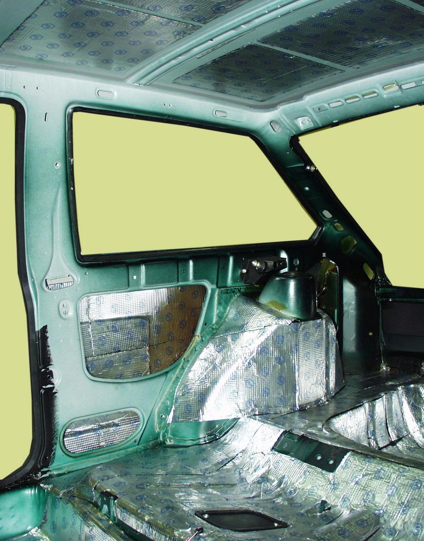 Вибро и шумоизоляция автомобиля своими руками